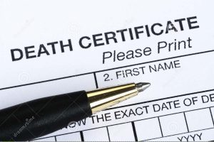 Buy Fake Death Certificate Online